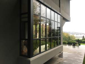 OBA 7 Steel Structures - Oba7 Marbella - natural marble stones, doors and windows