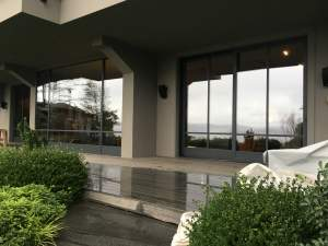 Steel Structures - Oba7 Marbella - natural marble stones, doors and windows